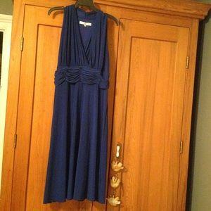 Evan Piccone Royal Blue 16W cocktail dress